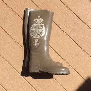 LIKE NEW Juicy Couture Rain boots